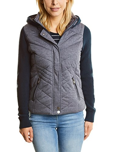 deep Mujer De Knit Blau Mix 20128 Jersey Chaqueta Jacket Traje Para Cecil Blue X8pvg4qw