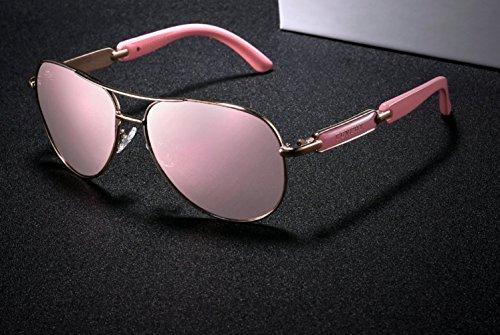 gato con protección estilo gafas de sol sol mujer polarizadas color de moda de de cristal Gafas Gafas Gafas espejo de UV400 cristal Sol mariposa gris de ojo de AwFn4q