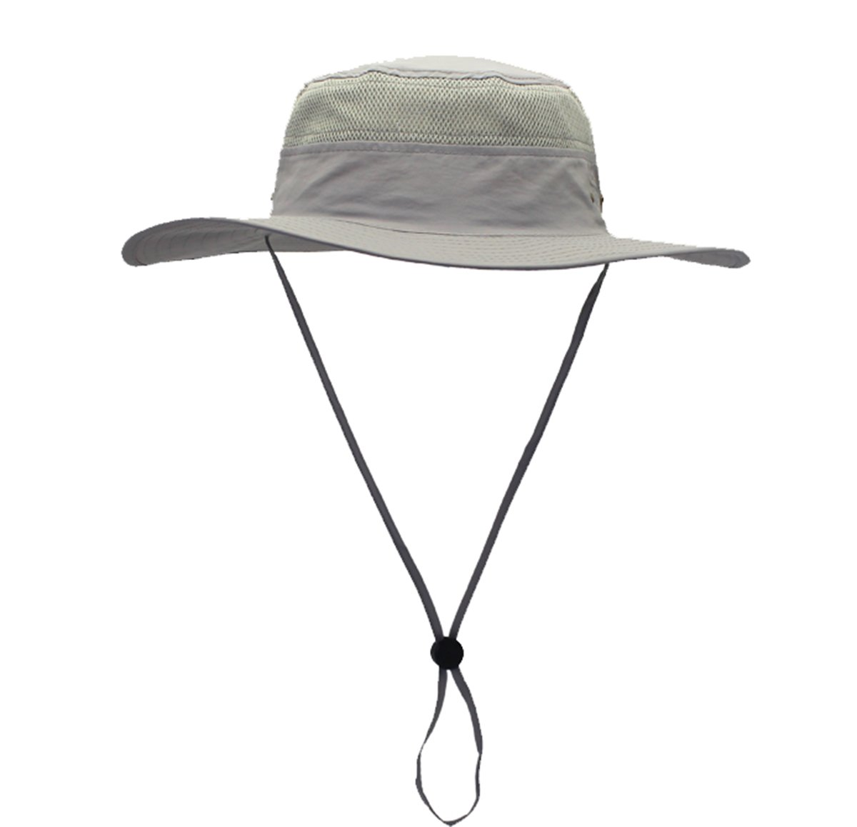 GG ST Outdoor UPF 50+ Mesh Sun Protection Hat Wide Brim Summer Cap Breathable Packable Hunting Fishing Beach Hat for Men & Women
