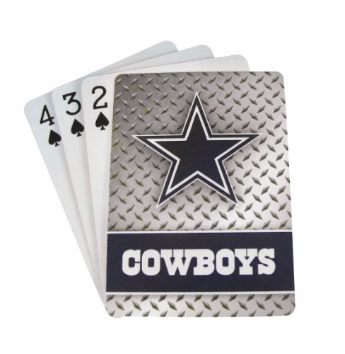 Dallas Cowboys Diamond Plate Playing Cards by Pro Specialties Group