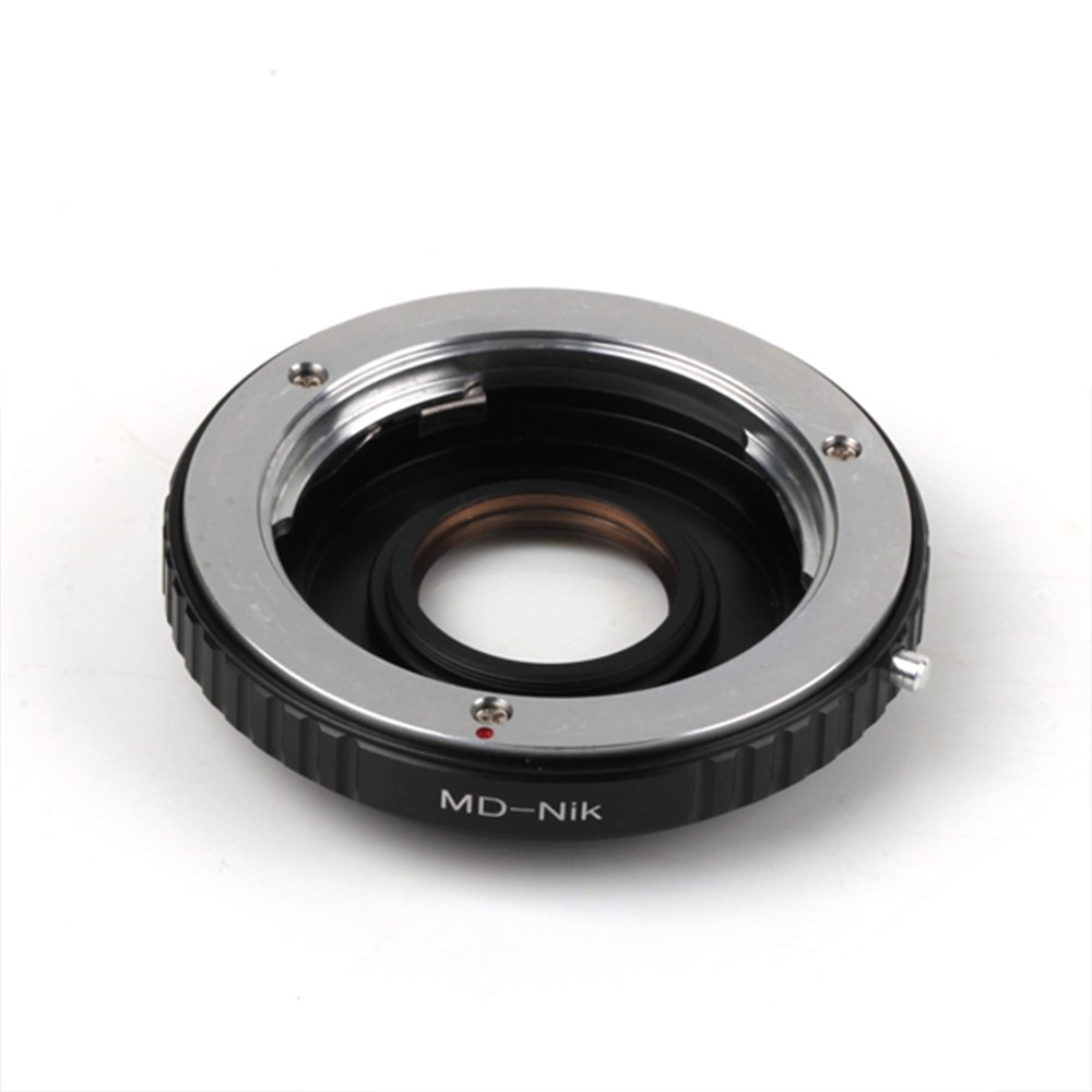 Pixco Lens Adapter Suit for Minolta MDLens to Nikon Camera D3400 D500 D5 D810A D7200 D5500 D750 D810 D5300 D3300 Df