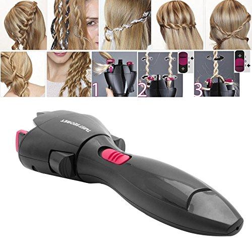 Electric Automatic Smart Quick Easy DIY Braid Hair Braider Hairstyle Tool Hair Braided Tight Curls Artifact Hi2deals 12.08