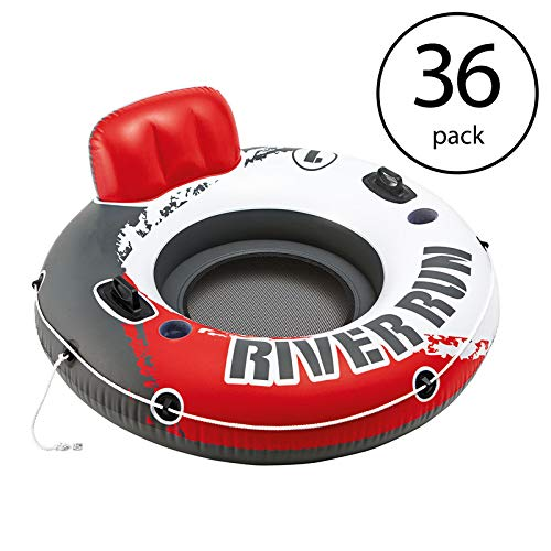 MRT SUPPLY River Run 1 53'' Inflatable Floating Tube Lake Pool Ocean Raft (36 Pack) with Ebook by MRT SUPPLY (Image #7)