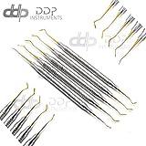 DDP Dental Restorative Composite Instrument Gold