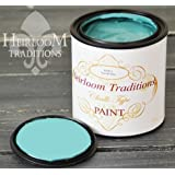 Seaside Blue, Heirloom Traditions Chalk Type Paint (32 oz Quart)