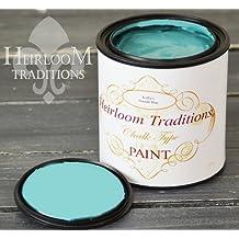 Seaside Blue, Heirloom Traditions Chalk Type Paint (32 oz Quart)
