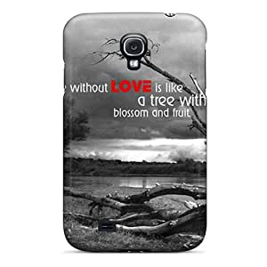 Ultra Slim Fit Hard SWHske Case Cover Specially Made For Galaxy S4- Love