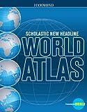 Scholastic New Headline World Atlas, Hammond, 0841669422