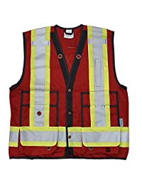 Viking Unisex Adult Red Surveyor Vest Open Road