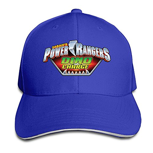 Power Rangers Dino Charge Unisex 100% Cotton Adjustable Baseball Cap RoyalBlue One Size