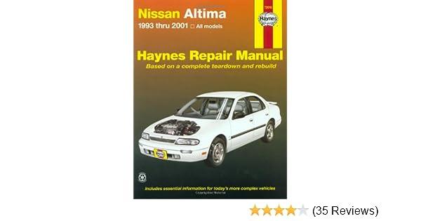 Nice Nissan Altima, 1993 2001 (Hayneu0027s Automotive Repair Manual): Chilton:  0038345720154: Amazon.com: Books