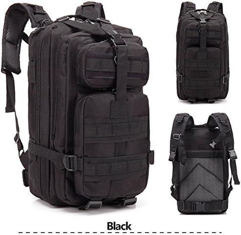 Acazon Backpack Shoulders Bag, 3P 30L Oxford Cloth Outdoor Waterproof Tactical Backpack Shoulders Bag US Stock