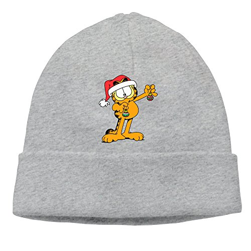 BigBang Adult Garfield Christmas Beanie Skully Cap Hat Watch Cap Ski Cap Hat (Watch Garfield Halloween Movie)