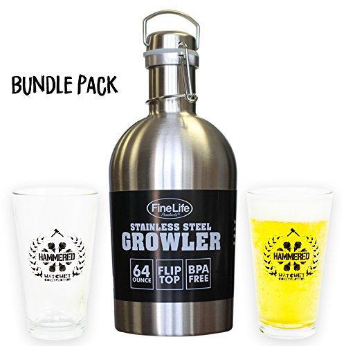 64 ounce beer mugs - 4