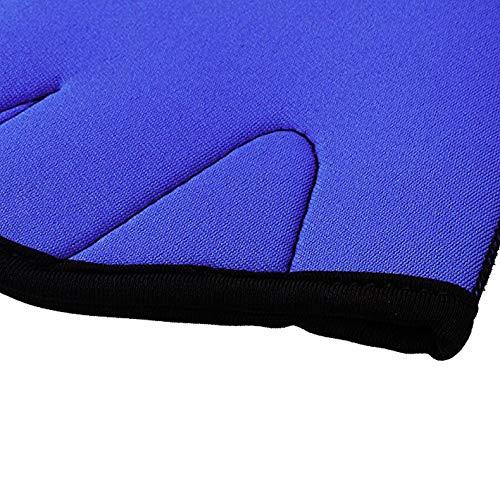 World of Fun Aqua Fit Swim Training Gloves,Webbed Gloves Aquatic Fitness Water Resistance Gloves 1 Pair