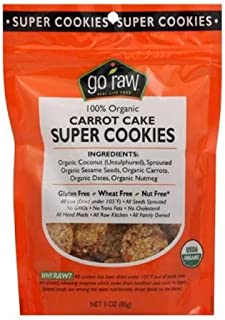product image for Go Raw 100% Organic Carrot Cake Super Cookies, 3 Oz, (Pack of 12)