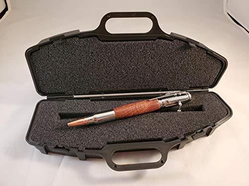 Bolt action pen wrifle style pen case