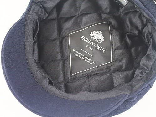 Failsworth Millinery Mariner Melton Bundle with Matching Lambswool Scarf 2 Items