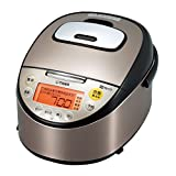 TIGER IH rice cooker cooked 5.5 Go cook black stainless JKT-G100-XK