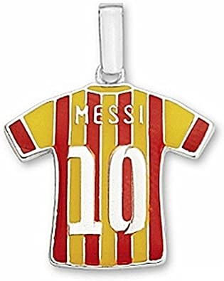 T F C Barcelona Messi Sterling Silver N10 The 2nd Kit 6945 Model 10 106 2e Amazon Co Uk Jewellery