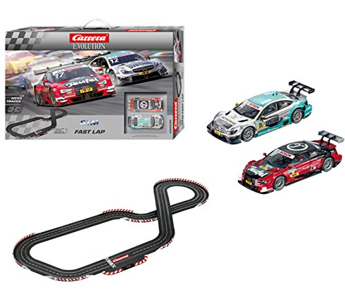 Used, Carrera Evolution 25220 DTM Fast Lap Slot Car Set for sale  Delivered anywhere in USA