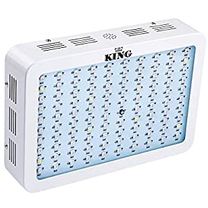 king 300w full spectrum 360 870nm led grow light panel for greenhouse and indoor. Black Bedroom Furniture Sets. Home Design Ideas