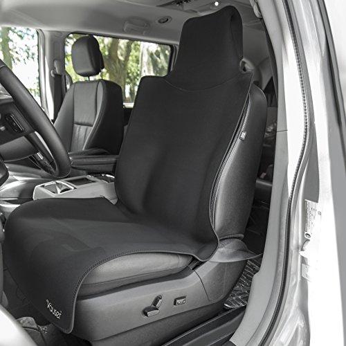 waterproof car seat cover durable neoprene by vauser tm universal fit non slip surprenetm base. Black Bedroom Furniture Sets. Home Design Ideas