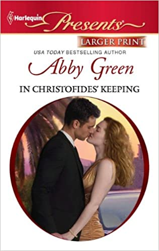 Book In Christofides' Keeping (Harlequin Larger Print Presents)
