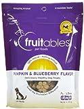 Cheap Fruitables Pumpkin & Blueberry Crunchy Dog Treats, 7oz Pouch (Pack of 6)