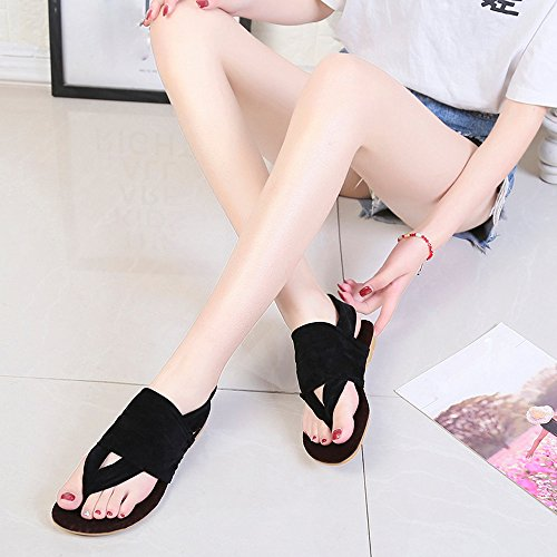 Feet Flip Casual Flats Size Footwear Black Work Hot Sandals Fashion Black Pink Beach Bohemia Shoes Style Platform Shoes Shoes Blue Outdoor Girl Large Indoor Women Simple Flop Princess RwAw0CxqP