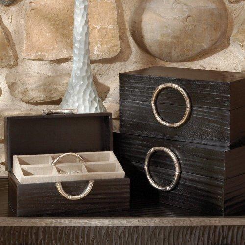 Artisan Black Leather Jewelry ()