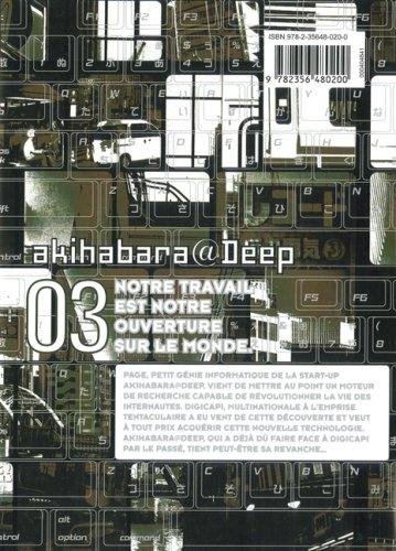 Akihabara@Deep, Tome 3 :