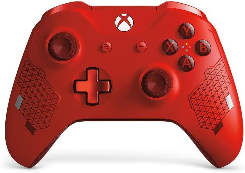 ACCESOIRE MICROSOFT Manette Xbox ED Sport Rojo: Microsoft: Amazon ...