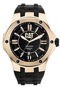 CAT A1.191.21.129 - Reloj analógico de cuarzo para hombre, correa de goma color negro