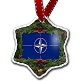 Christmas Ornament NATO (North Atlantic Treaty Organization) Flag - Neonblond