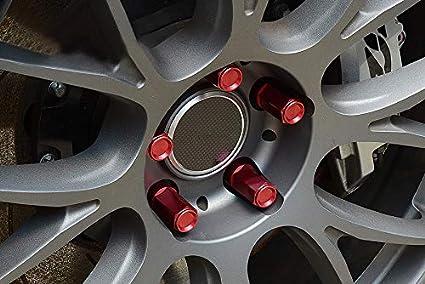 LIDAUTO Radmuttern Rad Muttern Diebstahlsicherungsschraube Aluminiumlegierung M12 /× 1,5 7075-T6