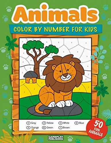Animals Color Number Kids Including product image