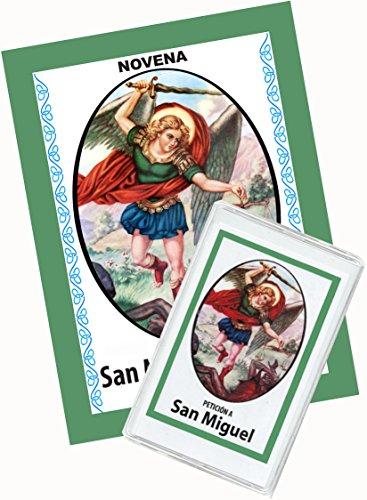 Novena De San Miguel Arcángel Para Pedirle Que Nos Ayude a Vencer El Mal. (Corazón Renovado) (Novena A La Sangre De Cristo Original)