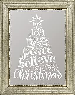 "product image for Imagine Design 11.88"" x 14.88 Joy, Love, Peace Christmas Mirror"