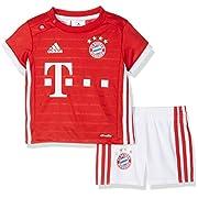 Adidas 2016-2017 Bayern Munich Adidas Home Baby Kit Red 6M