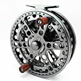 CENTREPIN FLOAT REEL CENTER PIN TROTTING REEL 120mm 4 3/4 INCHES CNC MACHINED ALUMINUM SALMON STEELHEAD FISHING For Sale