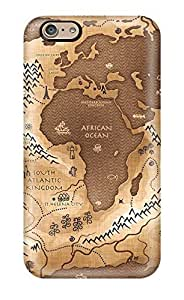 Ideal ZippyDoritEduard Case Cover For Iphone 6(map), Protective Stylish Case