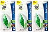 Paper Mate 660415 Liquid Paper DryLine Grip Correction Tape Dispenser, Pack of 3; Transparent Green Body; 1/5 inches Wide x 27.8 feet Long White Tape; Applies Dry, Rewrite Instantly; Swivel Tip