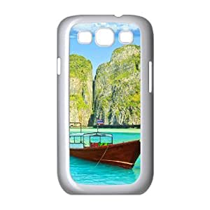 Samsung Galaxy S3 I9300 Ship Phone Back Case Use Your Own Photo Art Print Design Hard Shell Protection TY026794