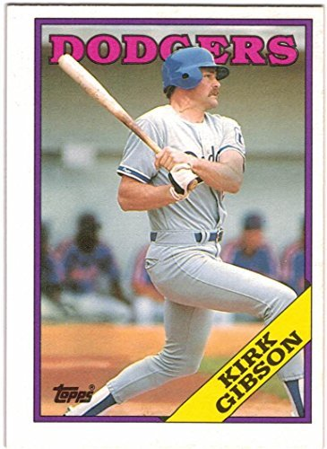 1988 Topps with Traded Los Angeles Dodgers World Series Champions Team Set with Kirk Gibson - Hershiser - 36 MLB Cards