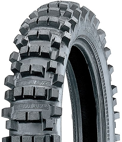 Kenda K760 Dual/Enduro Rear Motorcycle Bias Tire - 110/90-19 62C