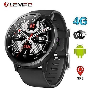 "LEMFO LEMX Reloj Inteligente Teléfono 4G LTE - Pantalla Android 7.1 2.03"" MTK6739 1GB+"