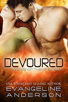 Devoured: Brides of the Kindred 11(Alien BBW Shapeshifter Romance) by [Anderson, Evangeline]