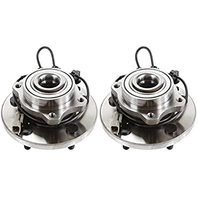 Auto Shack HB613203PR Front Pair 2 Wheel Hub Bearing Assemblies 5 Stud: Automotive