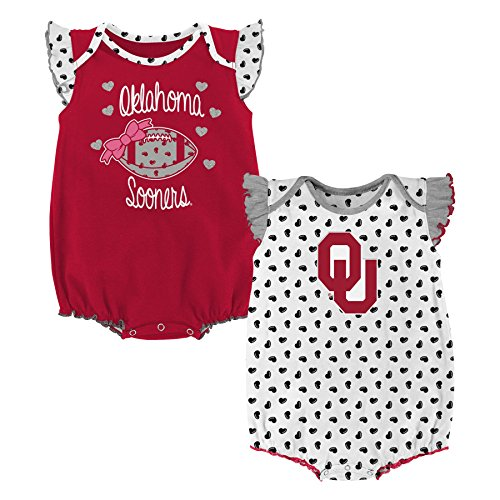 Oklahoma Sooners Infant Two Piece - 8